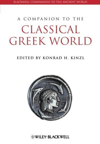 A Companion to the Classical Greek World (Blackwell Companions to the Ancient World) by (2009-12-31)