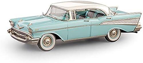 Brooklin Models - 1957 Chevrolet Bel-Air 4-türiges Hardtop - BRK221 - Blau Elfenbein