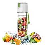 Bouteille Infuseur Fruit Design – Anti Fuite - Incassable sans BPA, sans Odeur avec Filtre dans...