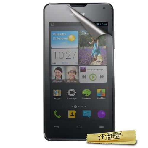 Accessory Master Bildschirm Spiegel Schutzfolie für Huawei Ascend Y300 (10-er Pack)