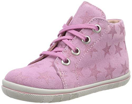 Däumling Unisex Baby Pey Sneaker, Pink (Space Begonia 02), 22 EU