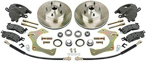 Mustang II Complete 11 In Front Disc Brake Kit, 5 x 4-3/4 GM BP