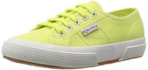 SUPERGA 2750 Cotu Classic, Sneaker Unisex Adulti, Green (Sunny Lime Sd37), 43.5 EU