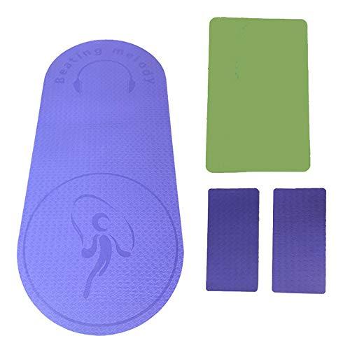 MCTY Esterilla de yoga Fitness Mat Skipping Rope Mat Tpe antideslizante Mat para el hogar Fitness al aire libre aeróbicos principiantes