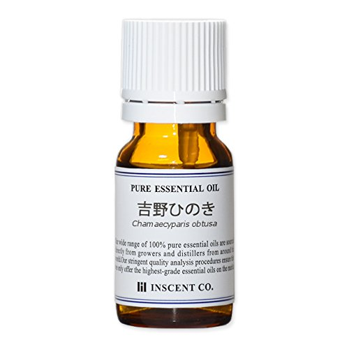 吉野ひのき 10ml インセント アロマオイル ヒノキ AEAJ 表示基準適合認定精油