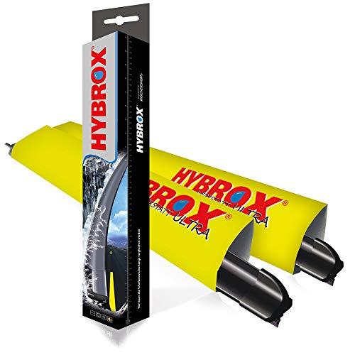 Hybrox U-700600F8R-1025325492 Front Scheibenwischer Satz, 700/600 mm