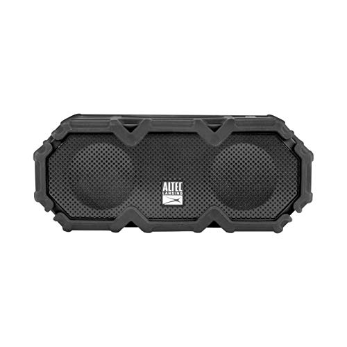 Altec Lansing IMW580 Lifejacket Jolt Heavy Duty Rugged and Waterproof Portable Bluetooth Speaker with Qi Wireless Charging, 20 Hours of Battery Life, 100FT Wireless Range and Voice Assistant (Renewed)