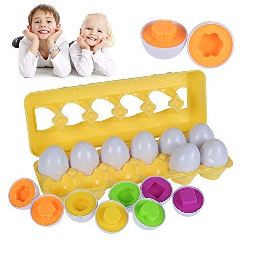 Zzlush Educational Spielzeug Kinder Lernen Baby Pädagogische Eier Spielwaren Infant Farbe Form Erkennen Kleinkind Puzzle Spiel Nüsse Schrauben Schraube Training Spielzeug Kinder Geschenk