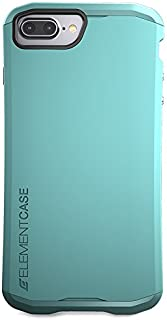 Element Case Aura 适用于 iPhone 8 和 7 Plus,深红色(EMT-322-100EZ-11)EMT-322-100EZ-28 iPhone 8 和 7 Plus 薄荷绿