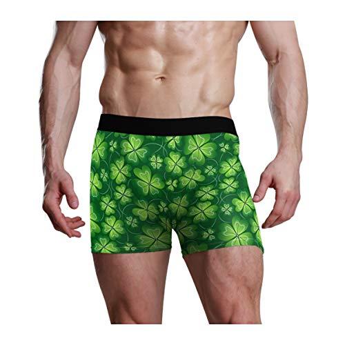 CaTaKu Herren Boxershorts St Patrick Clover 1er Pack -  mehrfarbig -  Medium