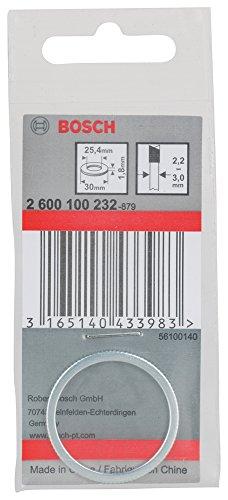 Bosch Professional Reduzierring für Kreissägeblätter, 30 x 25,4 x 1,8 mm, 2600100232