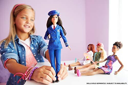 Achetez la Barbie Carrières Poupée Pilote Avion - 1