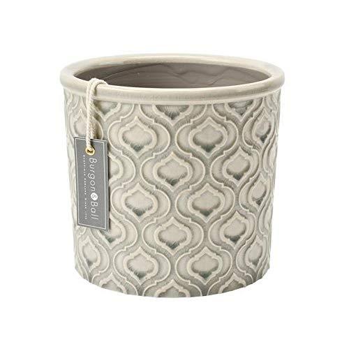 Burgon & Ball Tuscany o Porto Maceta de cerámica para interiores, peq