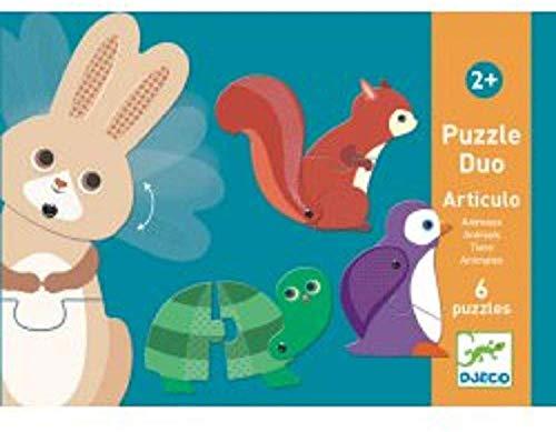 Djeco Puzzle Duo Articulo Animaux