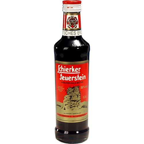 Schierker Feuerstein 0,35 l Kräuterlikör Halbbitter aus dem Harz