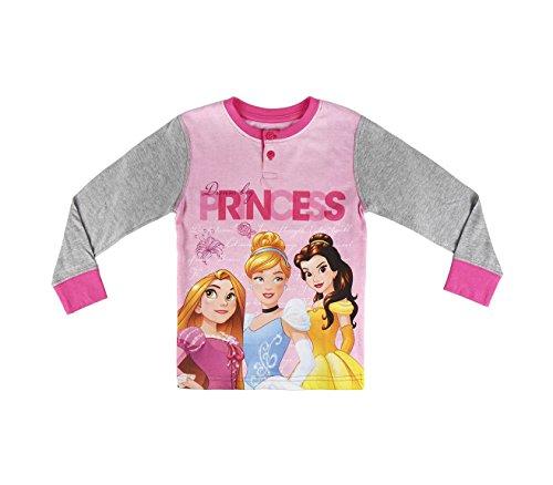 22-2291 Pijama de invierno para niña motivo PRINCESA DISNEY talla de 2 a 6 años - 3/4 años
