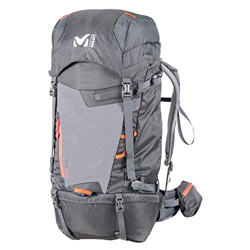 Millet – Ubic 30 W – Sac à Dos de Montagne pour Femme – Équipement pour Randonnée et Trekking – Volume Moyen 30 L – Couleur : Gris/Orange