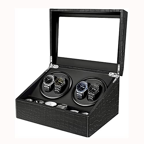 SMOOTHLY Reloj Winder Lujoso Reloj automático Turner Watch Vitrine para Relojes automáticos, Watch Winder