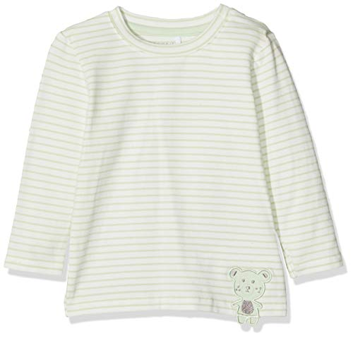 Name It Nbmdego Ls Top Box T-Shirt À Manches Longues, Multicolore Spray, 86 Bébé garçon
