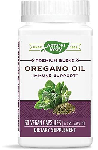 Nature's Way olio di origano standardizzato x60Vcapsule - il 75% -85% carvacrolo