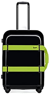 Black with Lime Green External Straps