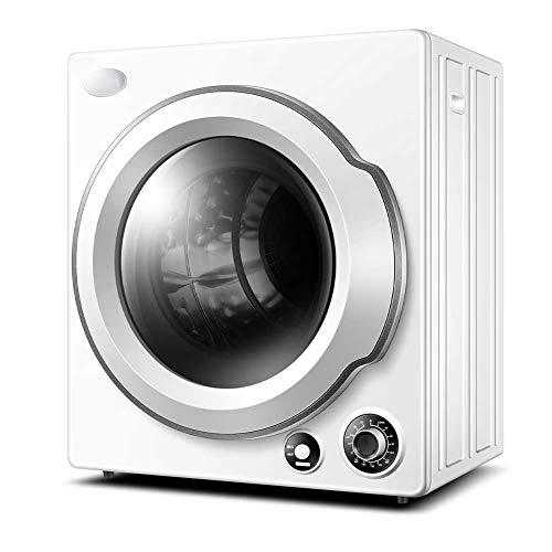 Lapden Secadora de lavandería portátil compacta, 13.2lbs Secadora de Gran Capacidad, Secadora portátil de Carga Delantera con bañera de Acero Inoxidable, Easy Button Control