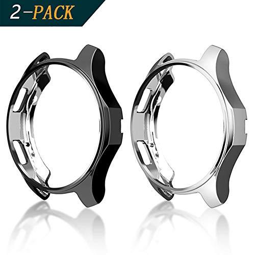 Cerike Funda para Samsung Galaxy Watch 42mm de parachoques, protector accesorios de...
