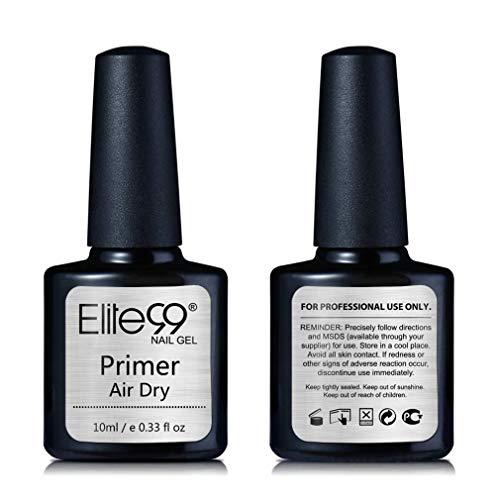 Elite99 Nail Primer, Haftvermittler UV Nagellack Gel Nagellack Gellack Nägel Maniküre UV LED Gellack Gel Nagellack Gel Polish - 10ml