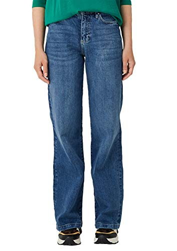 s.Oliver Damen 14.908.71.5552 Bootcut Jeans, Blau (Blue Denim Stretch 57z3), 44W/L36