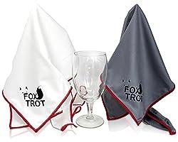Also for wine glasses and champagne flutes 3-pack CairnCleaner Whiskey Tasting Glass Brush