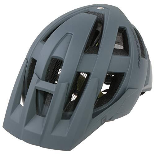 Cratoni AllSet (MTB) Casco de Bicicleta, Unisex Adulto, Gris, Talla única