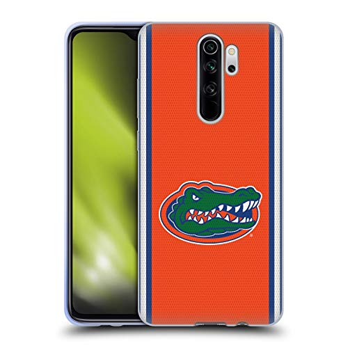 Head Case Designs Officially Licensed University of Florida UF Football Jersey Soft Gel Case Compatible with Xiaomi Redmi Note 8 Pro