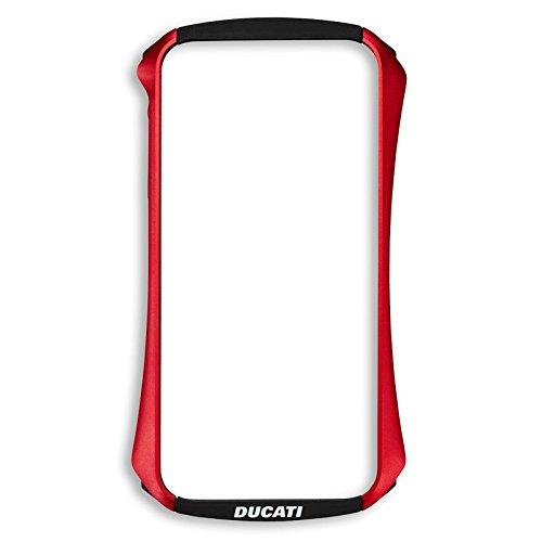 Ducati Draco - Carcasa para iPhone 5 / 5S / SE (aluminio), color rojo y negro