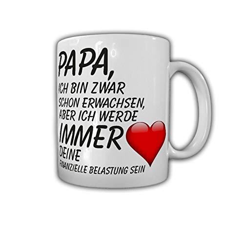 Papa ich bin dein financieral Daughter, hijo, padre café #27794