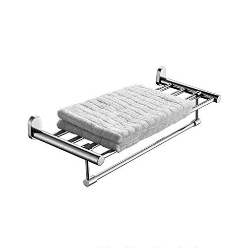 ZYING estantería-Toalla de baño de Acero Actividad Toallero Hardware baño Colgante de Acero Plataforma de baño Set