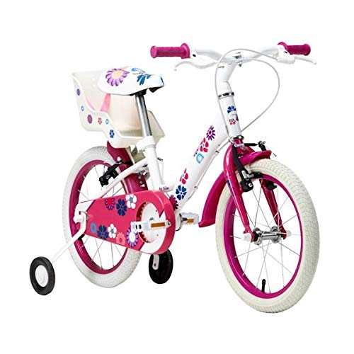 Bicicleta Groove My Bike Aro 16 2019 C/Porta Bonecas Branca