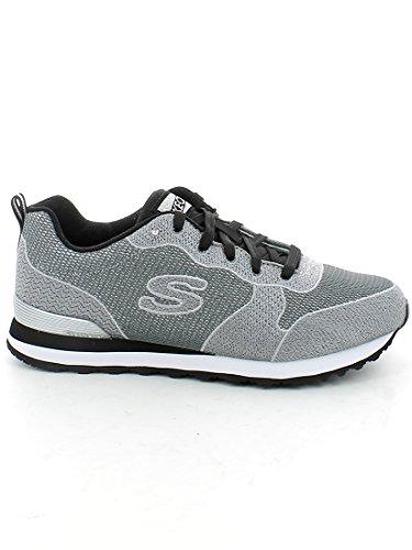Zapatillas deportivas Skechers Mujer OG 85 Shimmer Time, color negro, color Gris,...