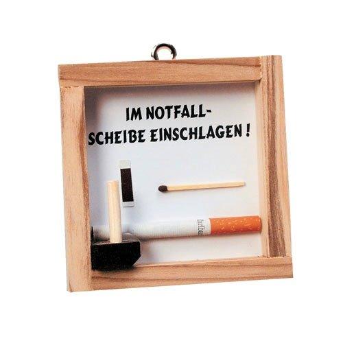 ERFURTH FUN Notfall Etui Zigarette, Mehrfarbig, Einheitsgröße