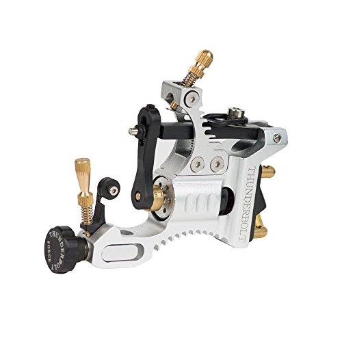 EZTAT2 Thunderbolt Force Rotary Tattoo Machine Gun Black Space...