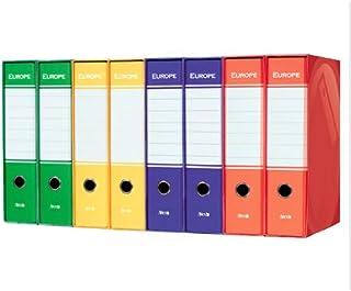 Verde Arca 5005WPMV Registratore con Custodia 6 Pezzi
