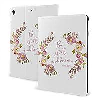 SORA まだあり ピンク 紫色 花 水彩画を知って下さい iPad 10.2 ケース iPad 8 ケース(2020モデル) iPad 第7世代 ケース (2019モデル) Apple Pencil 一代収納可能 ipad 10.2 インチ (2019/2020秋発売新型)アイパッド ケース10.2 2020 第8世代