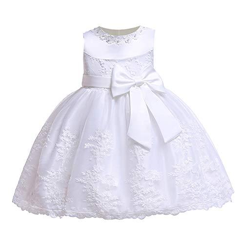 LZH Bebé Infantil Niñas Vestido de Bautizo de Cumpleaños Bautismo Vestido de...