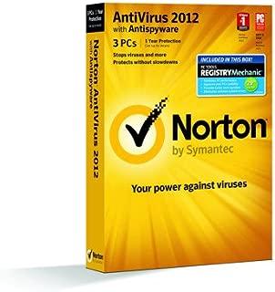 Norton Antivirus 2012 3 PC + PC Tools Registry Mechanic