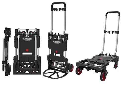Magna Cart - Diable 2 en 1 Multifonction - A Utiliser comme Chariot et Chariot de Transport - Idéal pour Une Utilisation dans et Autour de la Maison