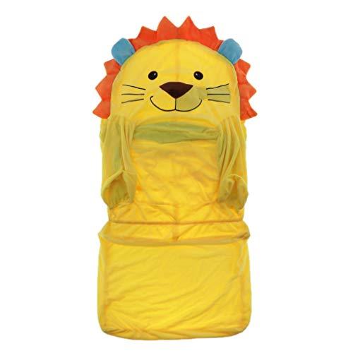 LOVIVER Kindersessel Kindersofa Bezug Sofabezug Sofahusse Sesselüberwurf Stretchhusse Stretchbezug - Gelb Löwe