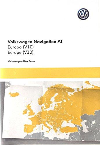 Original VW Volkswagen tarjeta SD con mapa de Europa material Discover Media–5G0919866ae