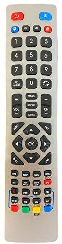 Ersatz Fernbedienung passend für Sharp TV LC-43CFF6002E | LC-48CFF6001E | LC-48CFF6001K | LC-48CFF6002E
