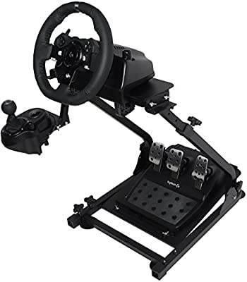 Marada Racing Wheel Stand Pro for Logitech G25, G27, G29, G920 Steering Wheel Stand with Driving Simulator Gaming Cockpit (Wheel and Pedals Not Included) (G920)