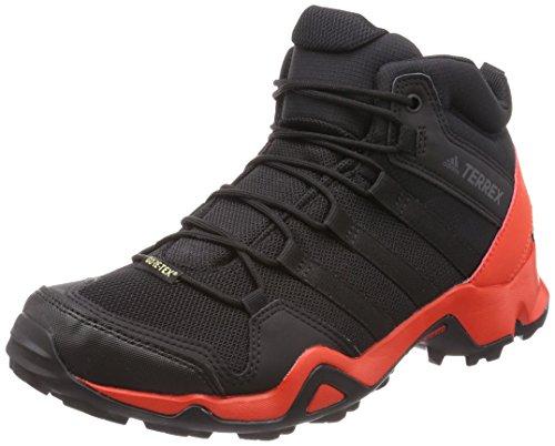 Adidas Terrex Ax2R Mid GTX, Botas de Senderismo para Hombre, Negro (Negbas/Negbas/Belazu 000), 44 EU