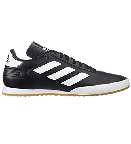 adidas Originals Men's COPA Super Soccer Shoe, Black/White/Gold Metallic, 11 M US